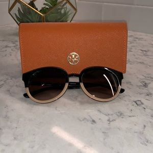Tory Burch two toned sunglasses